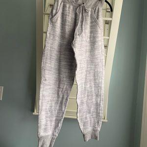 Gray joggers/sweatpants